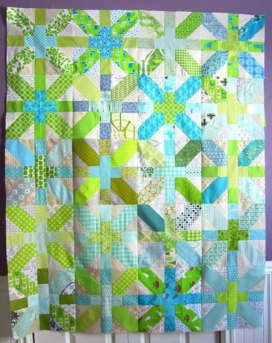 Happiness Feb quilt top