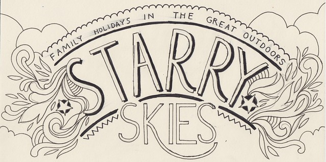 STARRY SKIES raw drawing