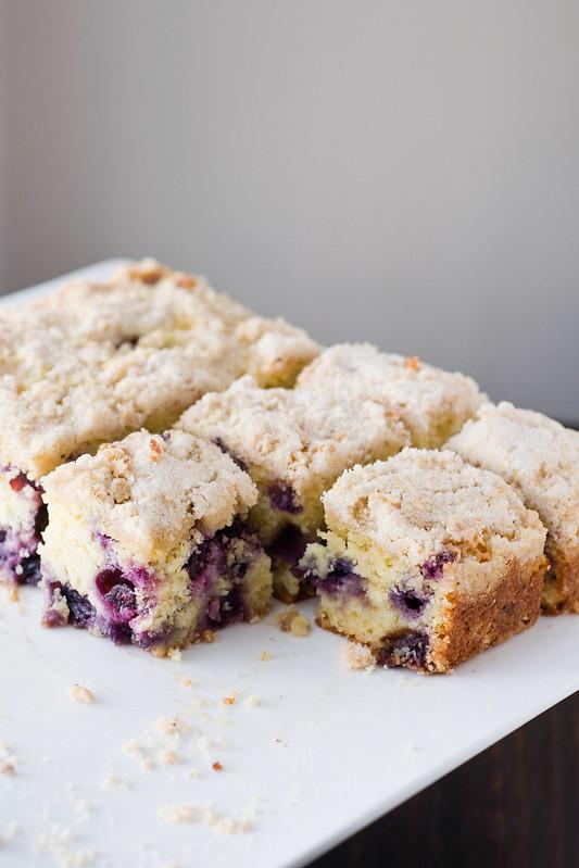 Blueberry Cornmeal Er Cake