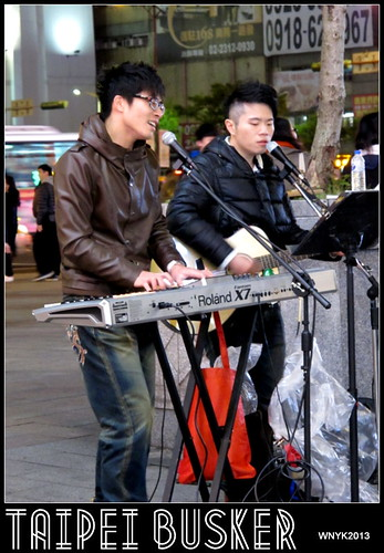 Taipei Busker