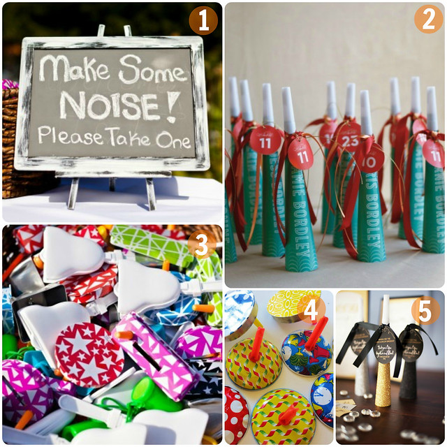 Wedding Noisemakers