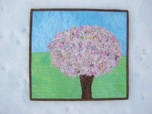 Hello Spring???  created for Project Quilting Season 4 Challenge 6 Hurray for Spring