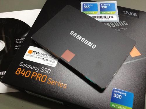 Sumsung SSD 840PRO 128GBにWindows 8をインストール by haruhiko_iyota
