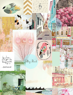 Dream Blog Mood Board