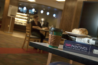 In 2010, Honnold-Mudd Library added a cafe, which quickly became a favorite study and snack spot.