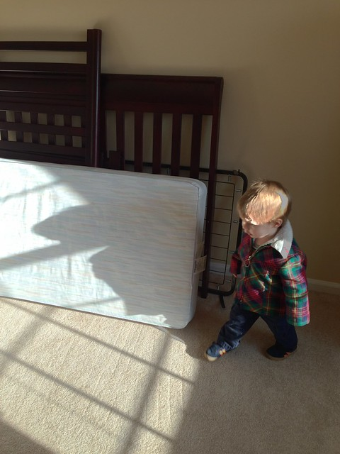 Connor's Disassembled Crib