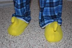Peep Toe Slippers