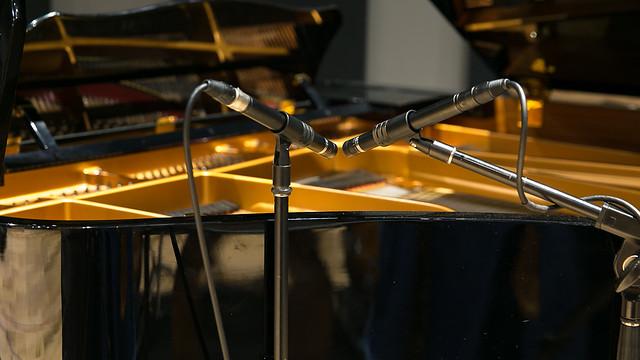 DPA / B&K 4011 X/Y Setup on Piano