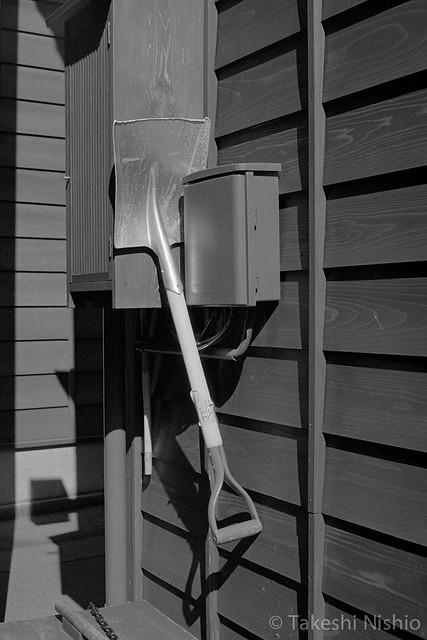 浮かぶスコップ / Hovering shovel #2