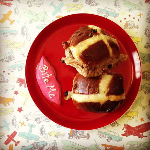 Black Star Pastry hot cross buns