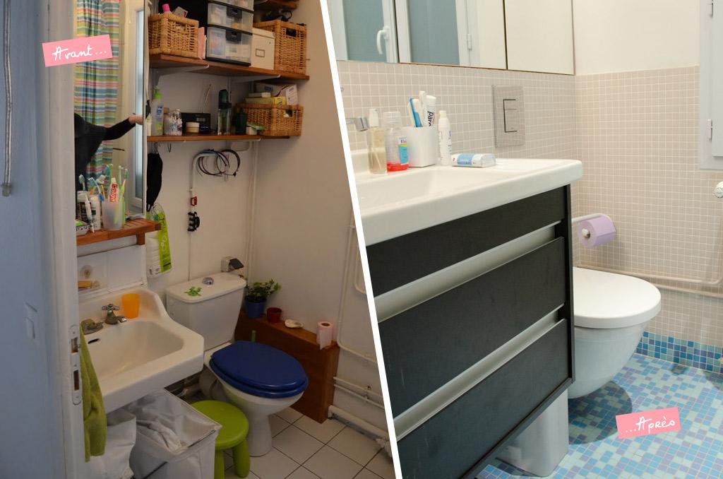 le relooking d 39 un appartement parisien et si on se. Black Bedroom Furniture Sets. Home Design Ideas