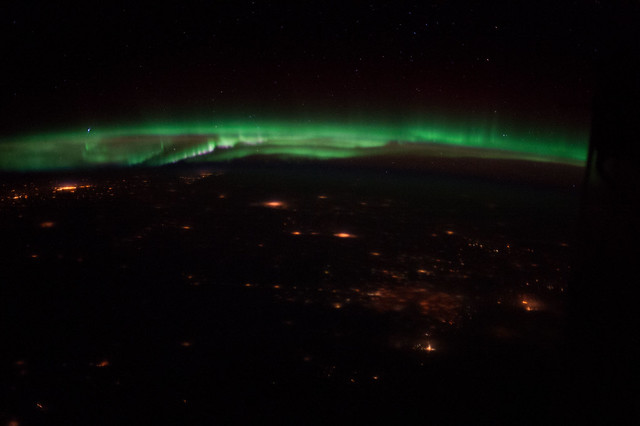 Aurora Borealis Over Colorado (NASA, International Space ...