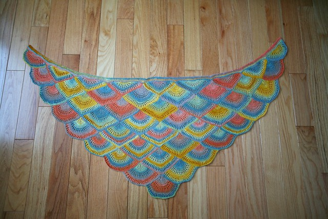 Fan Shawl