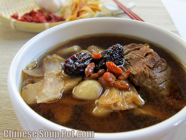 [Chinese Herbal Pork Ribs Soup - Herbal Bak Kut Teh]