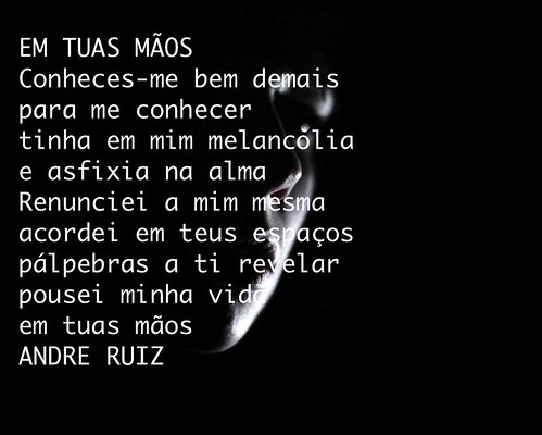 EM TUAS MÃOS by amigos do poeta