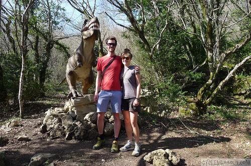 Sataplia National park cheesy dinosaurs