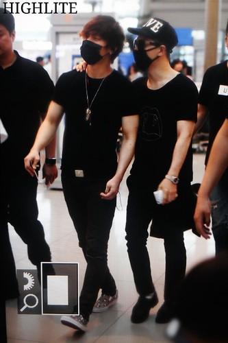 YB Dae GD departure Seoul to Bangkok 2015-07-10 011