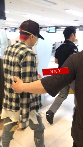 Big Bang - Gimpo Airport - 05jun2015 - G-Dragon - Sky - 03