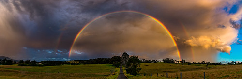Double Rainbow in Berry