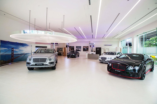 全新Bentley Taipei展示中心-1