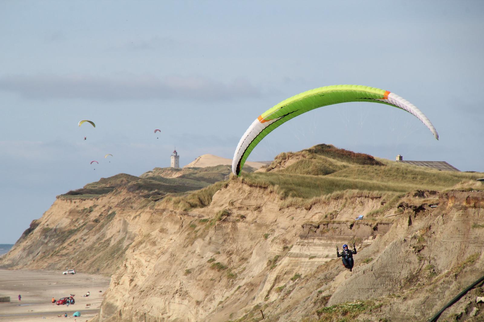 Alltagsfluchten Paragliden Dänemark