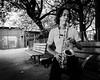 Sax practice in Kwun Tong