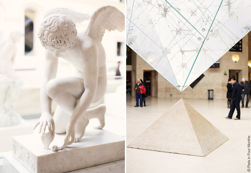 The Louvre by Carin Olsson (Paris in Four Months)