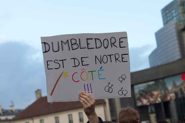 Dumbledore est de la partie
