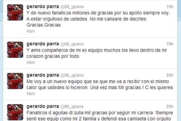 Twitter Gerardo Parra