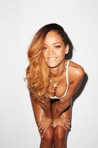 2 Rihanna sexy pour Terry Richardson