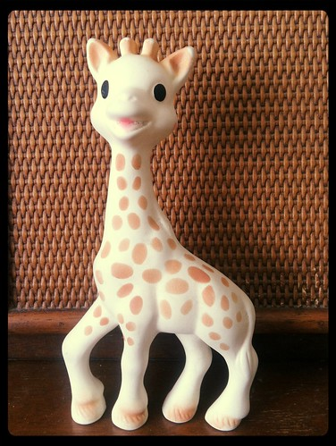 Sophie the Giraffe Squeak Toy France Natural Rubber