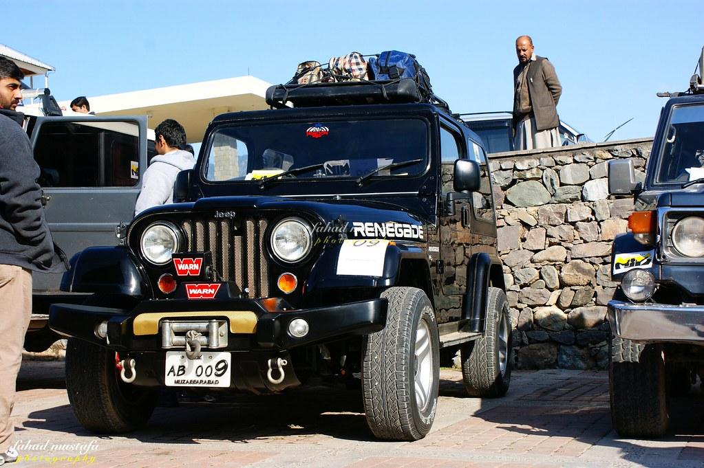 Muzaffarabad Jeep Club Neelum Snow Cross - 8469396432 a560bac7d2 b