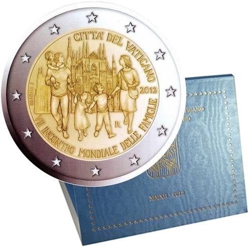 Oficiálne bal. 2 Euro Vatikán 2012, 7. Svetové stretnutie rodín