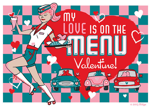 My Love is on the Menu, Valentine!