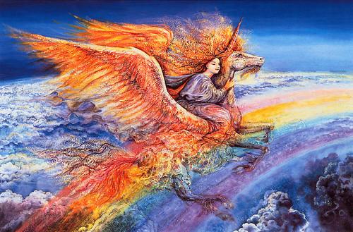 006-El vuelo de Acuario-Josephine Wall-via www.dana-mad.ru
