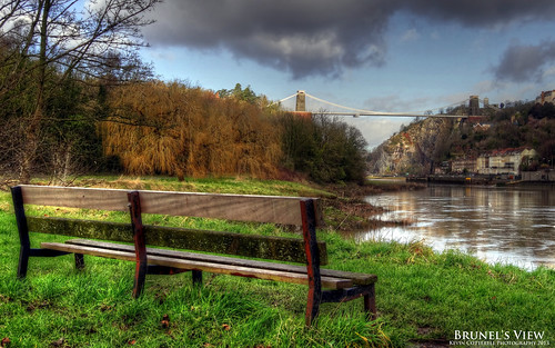 uk bridge england bench bristol view suspension gorge avon clifton cliftonsuspensionbridge hdr leighwoods avongorge hotwells photomatixpro isambardkingdombrunels sonydschx20v
