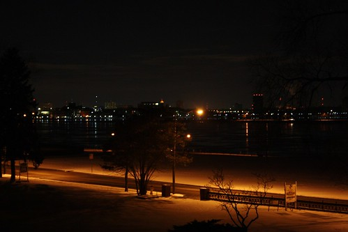 Detroit River, Night
