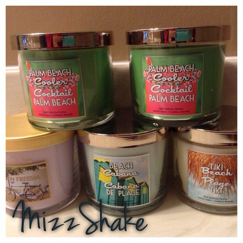 New candles #bathandbodyworks #candlejunkie #instagood #instahaul #instadaily #ilovecandles