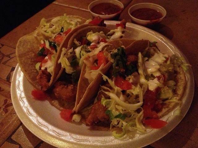 Fish tacos - El Zarape