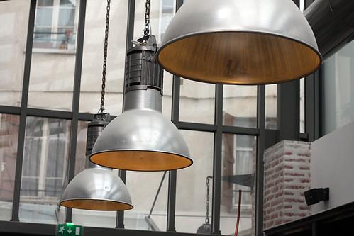 Le Chocolat, Paris - lamps