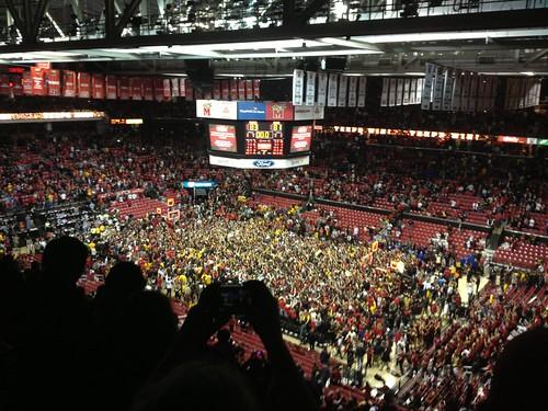 Maryland vs duke weekend