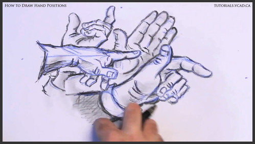 learn how to draw hand positions 022