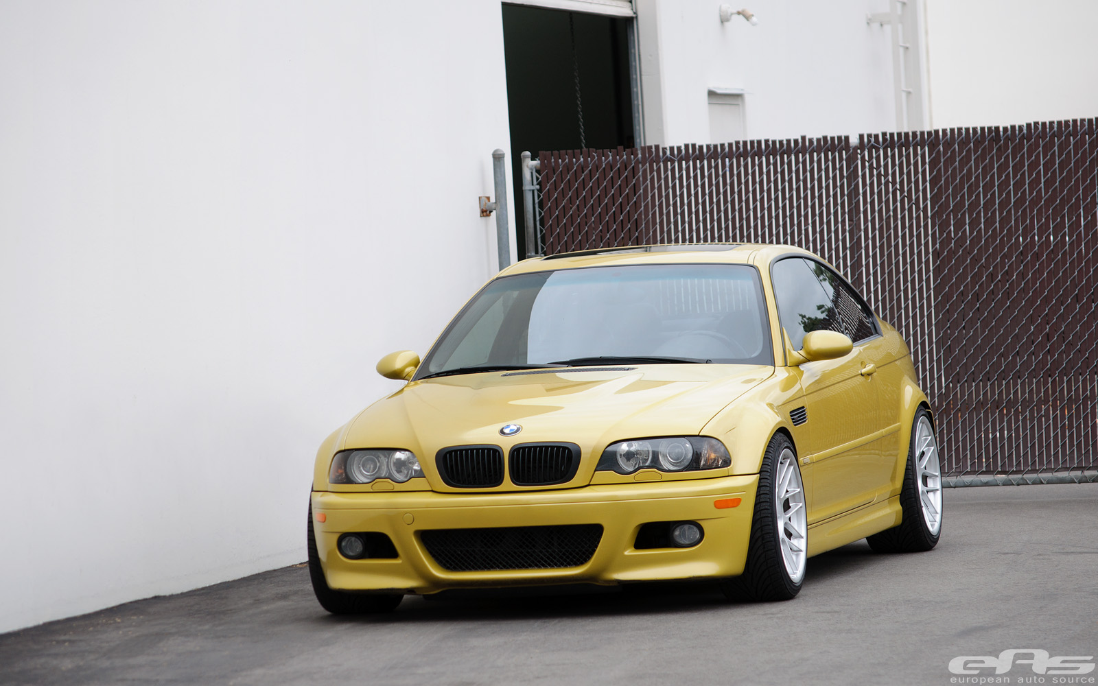 Phoenix Yellow E46 M3 On Apex Arc 8 Wheels Bmw Performance Parts