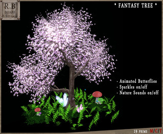 10L$ PROMO ! *RnB* Fantasy Tree Scene - Sparkles & Sounds