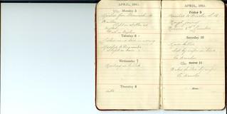 4th Lincolns Diary