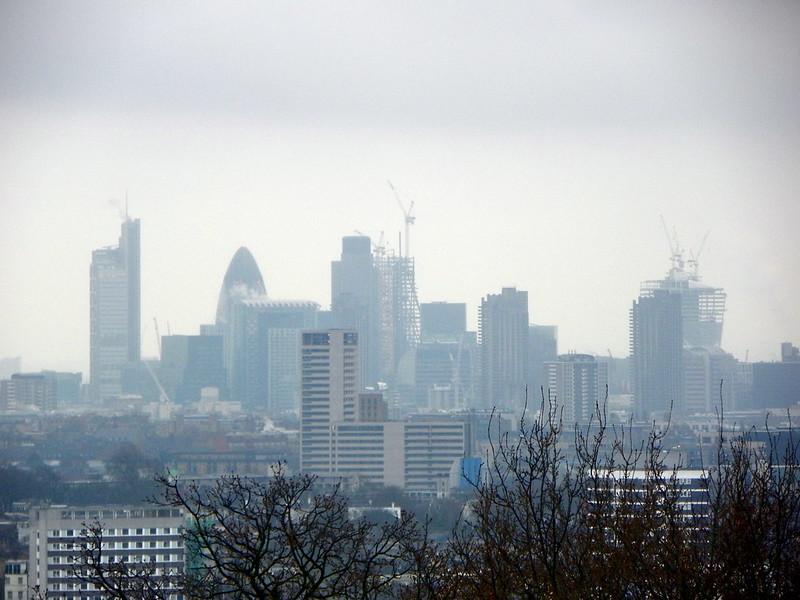 GOC Hampstead 121: London seen from Parliament Hill