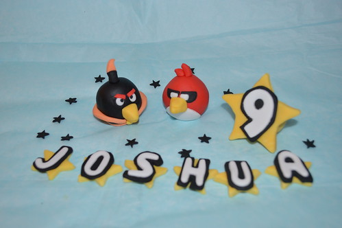Angry Birds Space cake topper figure decoration