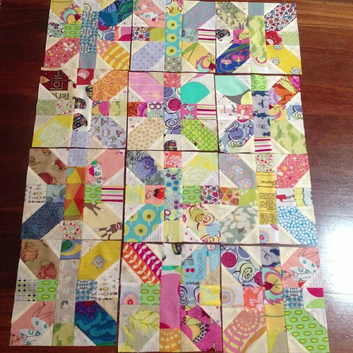 12 #xplusalong by Scrappy quilts
