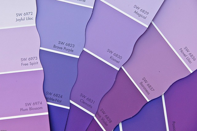 purple paint samples flickr photo sharing