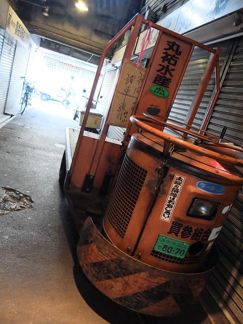 Turret Truck
